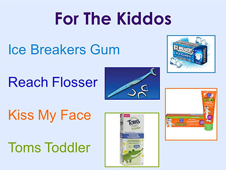 Kids Dental Products